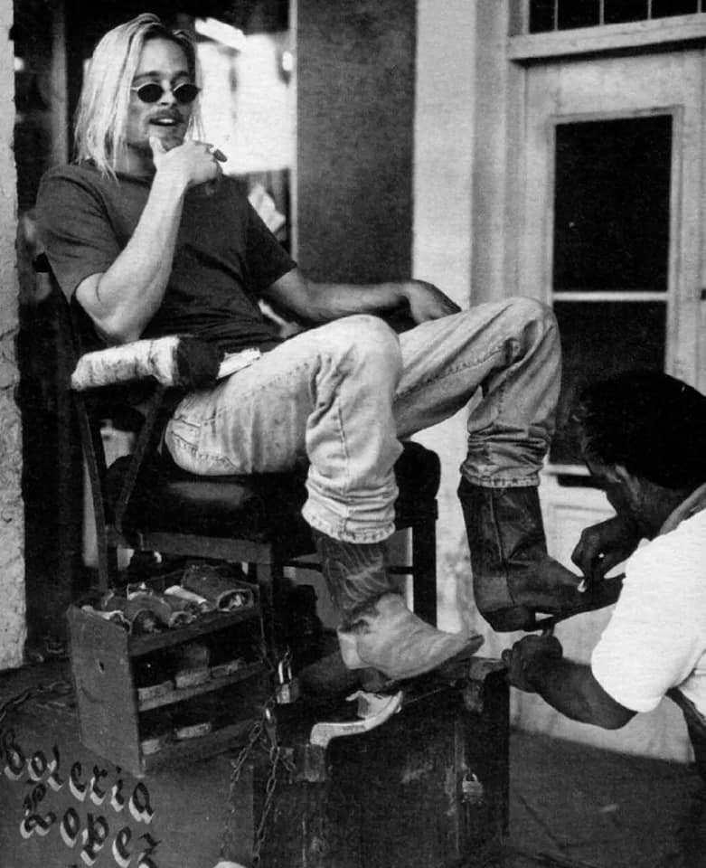 14 горячих фото Брэда Питта для журнала Rolling Stone И много интересных фактов о нем.