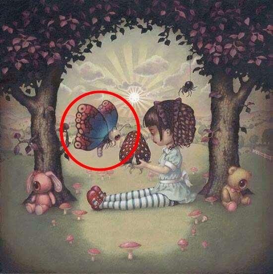 Что вы увидели первым? Ответьте честно - и узнаете 1 тайну своего подсознания!