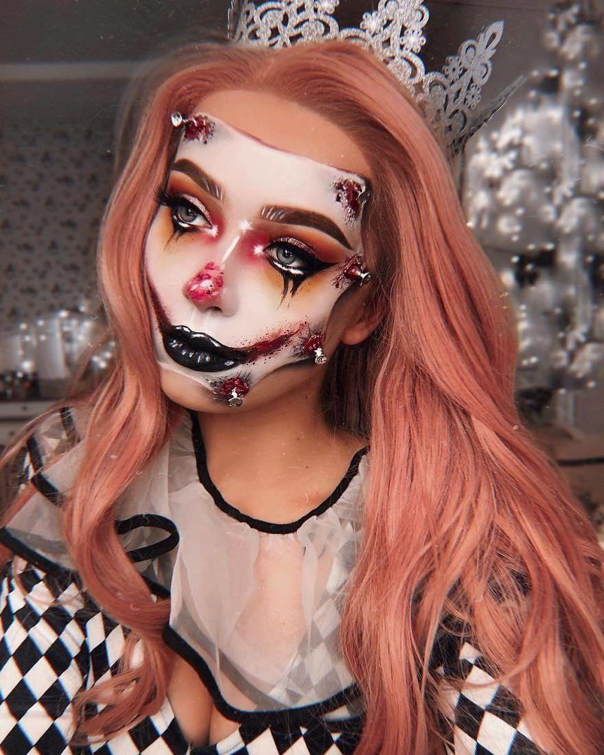 Год назад я поняла, что макияж - это моя страсть. Вот мои идеи на Хэллоуин сейчас Красиво и пугающе одновременно.