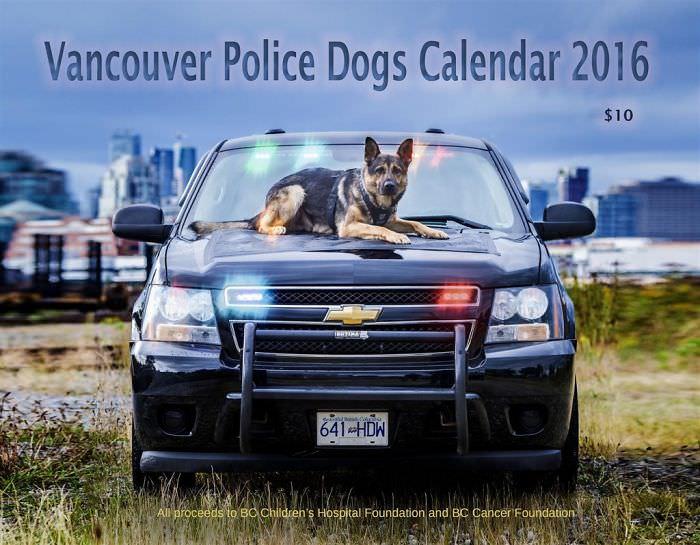 Канадские копы сделали календарь-2019. И есть там один персонаж... Креативность на высшем уровне!