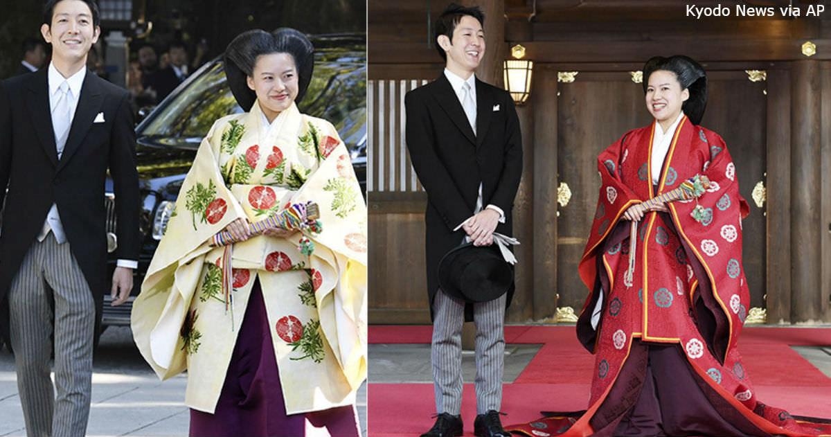 Японская принцесса Аяко вышла замуж - и потеряла свой статус. Все ради любви... Вот на что способно это чувство.