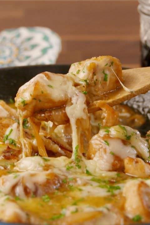 Французская курица с луком: еще вкуснее, чем французский суп Настоящая ?высокая кухня?!