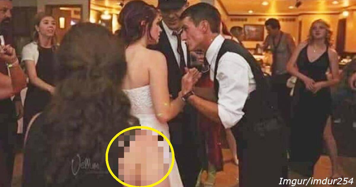 Кто здесь идиот? Вы или невеста? Посмотрите на фото еще раз Это не то, о чем вы подумали! Или то?