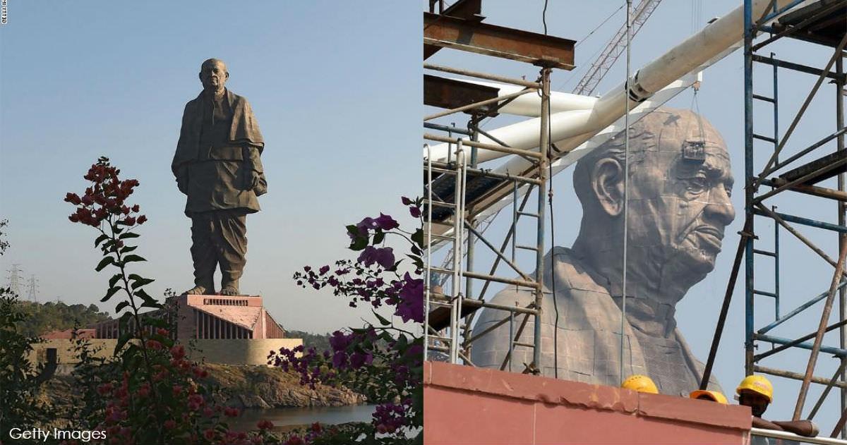 В Индии построили самый большой памятник в мире. Вы только посмотрите... Невероятное зрелище!