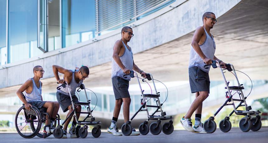 Спинной имплантат помог трем парализованным снова начать ходить! Невероятное достижение!